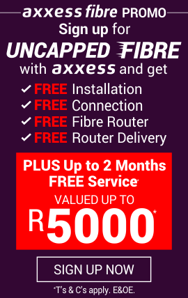 Axxess - Fibre Internet | Uncapped DSL | Capped DSL | Uncapped Fibre